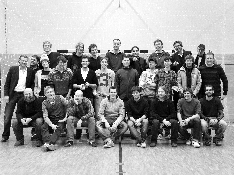 Handball-Spieler der HSG Kreuzberg